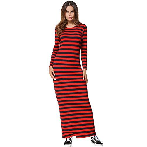 Kleid herbst rot