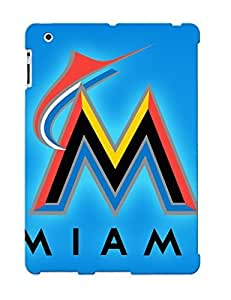 Perfect Fit YDwvZU-2645-rgLSa Miami Marlins Case For Ipad 2/3/4 With Appearance