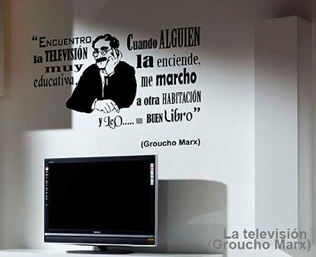 TOKPERSONAL Vinilo Decorativo Textual: Groucho Marx - LA ...