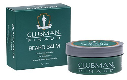 Pinaud Clubman barbe Baume conditionné cire 2 once