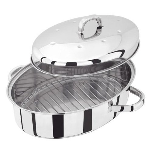 Judge  TC121 36 x 26 cm High Oval Roaster with Self Basting Lid