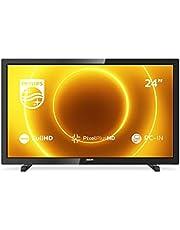 Philips 24PFS5505/12 24-inch LED-tv (Full HD, Pixel Plus HD, full-range luidspreker, 2 x HDMI, VGA, USB) zwart glanzend [modeljaar 2020]