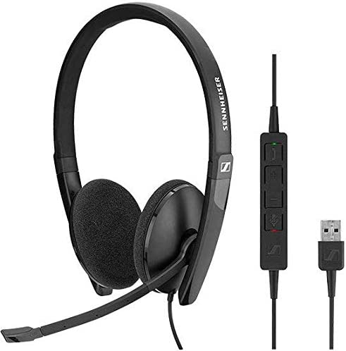 Sennheiser Sc 160 Headset Usb Duo 508315 Elektronik