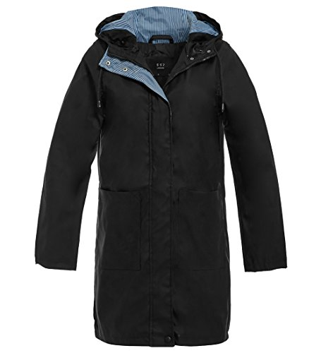 Donna Giacca Giacca Impermeabile Ss7 Impermeabile Giacca Ss7 Nero Donna Nero Impermeabile Ss7 BqUvB
