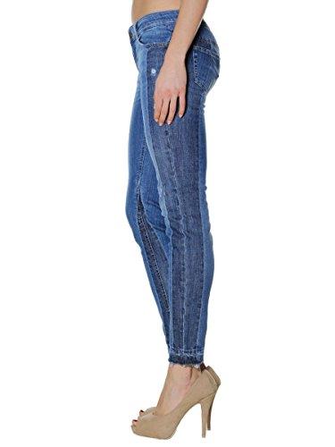 verano Pantalones vaqueros de 2018 77527 Den Liu Jo de primavera mujer bluenew MainApps A04qHwFg0c