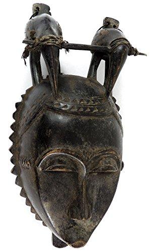 Mask Mblo Ivory Coast African Art ()