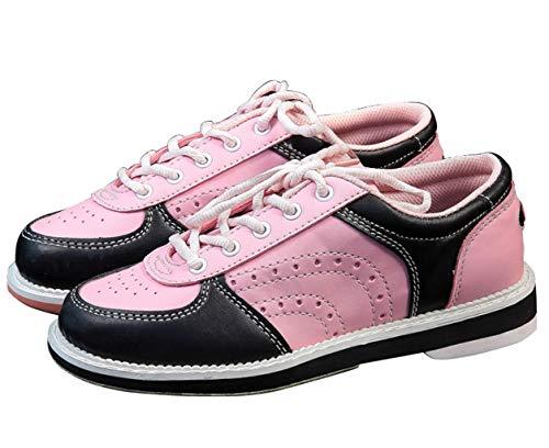 für Leder Damen Mädchen Kinder Jugend Bowling Schuhe und Rosa Synthetik dtOIxZqwq