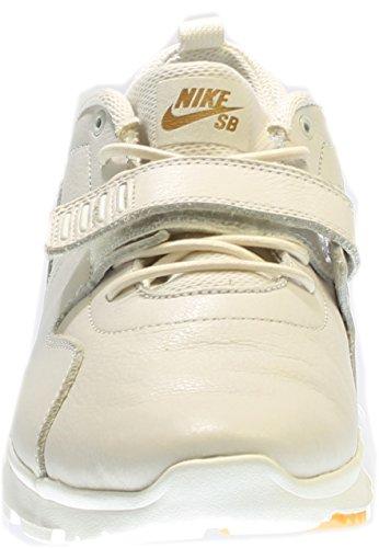 Nike Mens Trainerendor 11 Enkel-hoge Rijden Shoe Blanco / Doradodolfijn / Marrón (smmt Wht / Smmt Wht-gm Lght Brwn