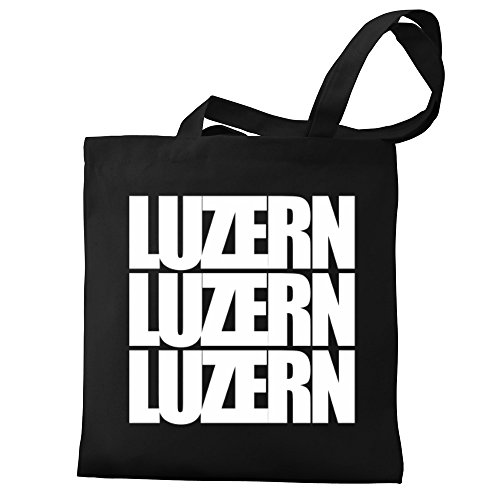 Eddany Luzern words Eddany Bag Canvas three Luzern Tote q75BwBZ