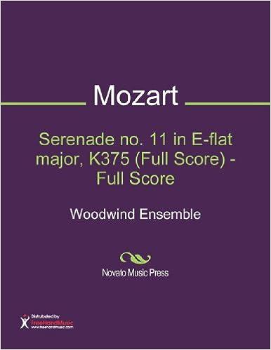 Serenade no. 11 in E-flat major, K375 (Full Score) - Full