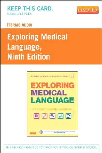 iTerms Audio for Exploring Medical Language - Retail Pack by Mosby