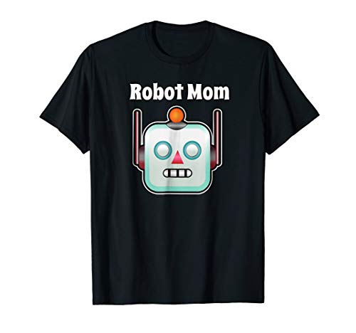 Colour Theme Party Costumes - Robot Mom Shirt For Theme Party