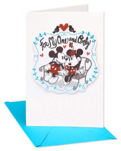 American Greetings Mickey Mouse Birthday Card for Wife with - Card Mouse Mickey Birthday