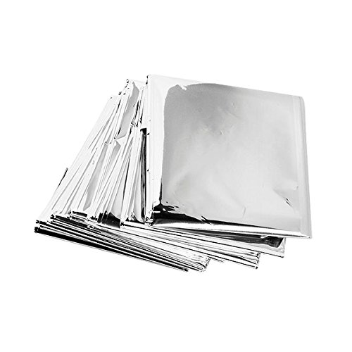 NAVAdeal Silver Reflective Mylar Film- 82 x 47 Inch Set of 2- Garden Greenhouse Covering Foil Sheets, Highly Reflective, Effectively Increase Plants Growth, 100% Environmentally Safe