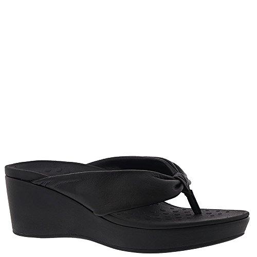B 6 Vionic Sandal Women's Orthaheel US Arabella Black M xqqRX7