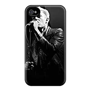 Shock-Absorbing Hard Phone Cases For Iphone 4/4s With Customized Attractive Breaking Benjamin Image DannyLCHEUNG