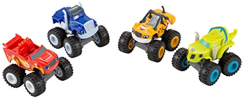 Fisher-Price Nickelodeon Blaze & the Monster Machines 4-Pack