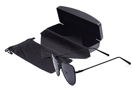 85b9bad5a Zeraca Polarized Aviator Sunglasses For Men Women Uv400 55mm – Trekohike