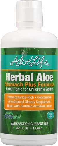 Aloe Life Herbal Aloe? Stomach plus Formula -- 32 fl oz - 2pc by Aloe Life