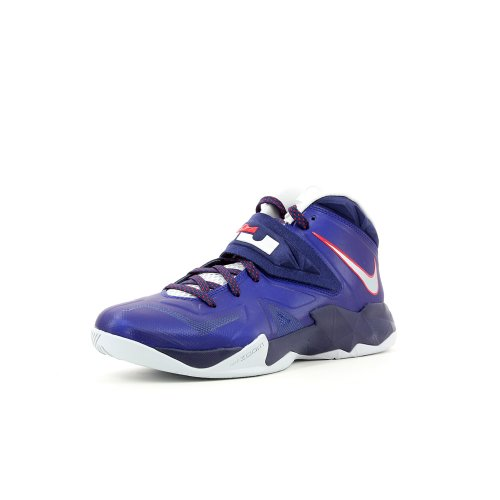 Nike Lebron Uomo Zoom Soldato Vii Scarpe Da Basket Profondo Reale