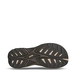 Teva Men\'s Omnium Closed Toe Sandal, Turkish Coffee, 11 M US