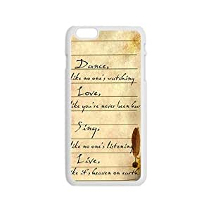 Artistic Poetry notes Cell Phone Case for iPhone 6