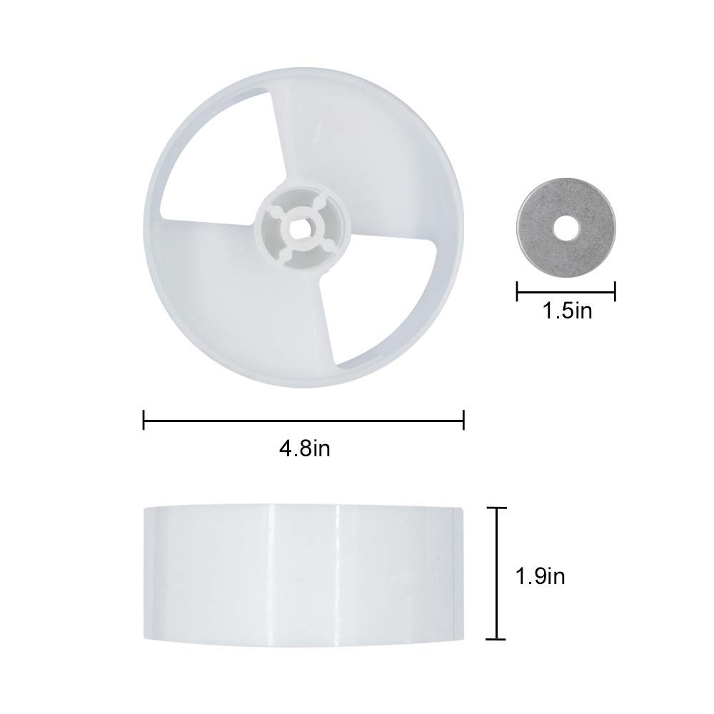 Ice Dispenser Drum Compatible with Whirlpool Refrigerator 4388736