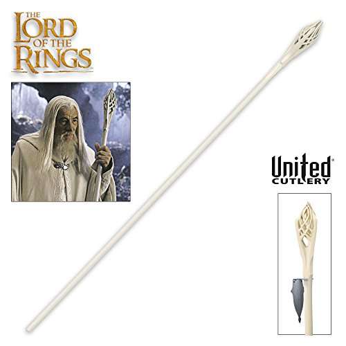 United Cutlery UC1386 Lord of the Rings Gandalf the White Staff]()