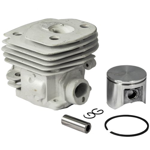 Max Motosports Cylinder Piston Rebuild Kit Assembly for Husqvarna 359 357 357XP Chainsaws 47mm