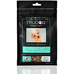 Real Meat Dog Treats - Treat Me: Freeze-Dried Raw Super Treats (2.5oz) - 100% All Natural Treats Support Healthier Teeth and Gums, Skin and Coat, and A Boosted Immune System