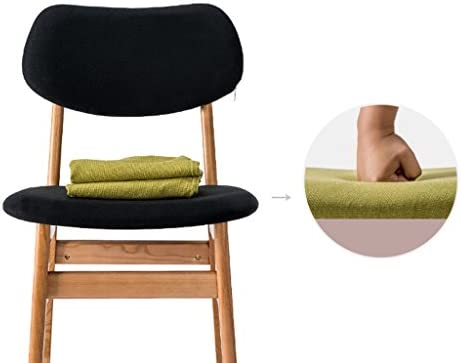 SLL- Chaise moderne en bois massif minimaliste moderne (couleur : D)