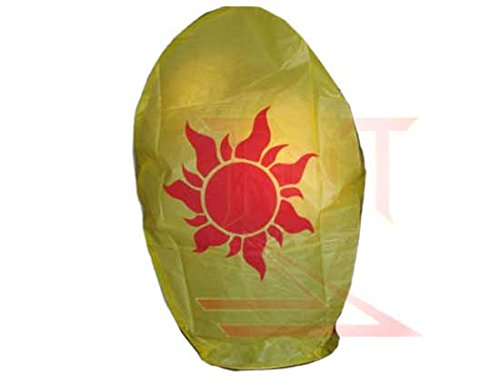 1-Each-Tangled-Style-Red-Sun-Sky-Lantern-Fully-Assembled