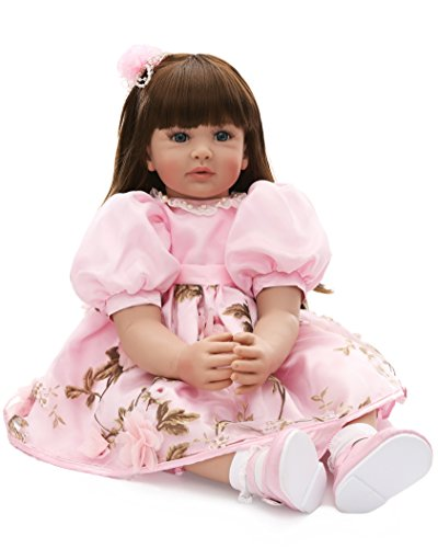 Boots From Dora Costumes - LaDORA 23'' Soft Body Lifelike Adorable Doll with Moveable Arms Legs for 6+ Children Dolly Toy AMC17016