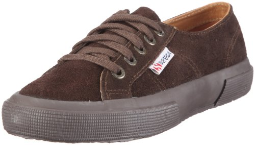 Dark Adults' 2750 Full Brown Superga Top Chocolate Sueu G08 Unisex Low Sneakers ZzTH7q