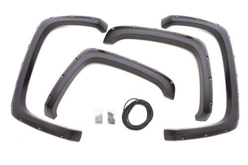 COLD RESISTANT 1999- 2006 Chevy Silverado & GMC Sierra Pocket Style Riveted Fender Flares MAPLE4X4