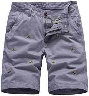 半パンツ ショーツ 大きいサイズ 刺繍 短パン ツイル 夏 半ズボン 人気 チノ ハーフパンツ 旅行 通気性 ショートパンツ ビーチ ゆったり