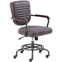 Better Homes & Gardens Granary Modern Farmhouse Office Chair (Gray)