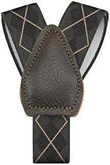 Shirttail Garters Argyle Shirt Stays KK /& Jay Supply Co