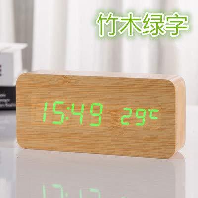 YLAXX - Despertador digital de mesita de noche, despertador del ...