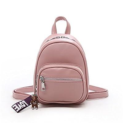 6cab3bbbbf 85%OFF Women Mini Backpack Pu Leather Female Cute Back Pack Small Backpack  Girls Chirldren