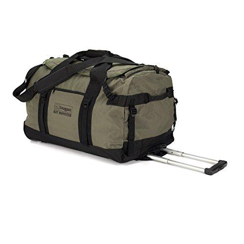 Snugpak Roller Monster Bag Kit, Olive, 65-Liter