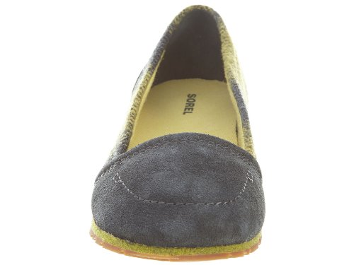 Medium Curry Women's Yaquina Flat Grill Sorel Yellow Moc B 9 xfAzXwq