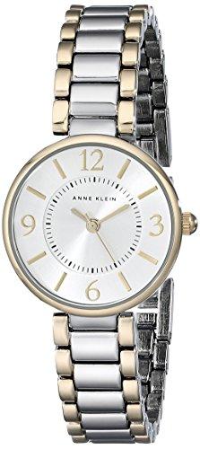 Anne Klein Women's AK/1871SVTT Two-Tone Bracelet Watch