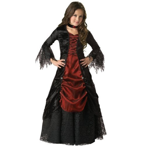 In Character Costumes 32504 Gothic Vampira Elite Collection Child Costume Size 6 by -