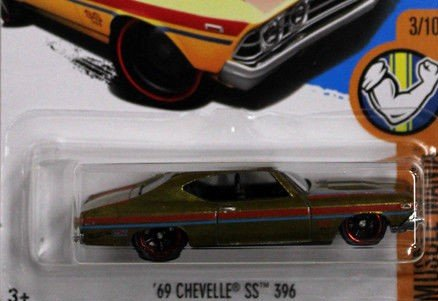 Amazon.com: HOT WHEELS SUPER TREASURE HUNT GOLD 69 CHEVELLE SS 396 DIE-CAST WITH REAL RIDER TIRES, 1969 CHEVELLE: Toys & Games