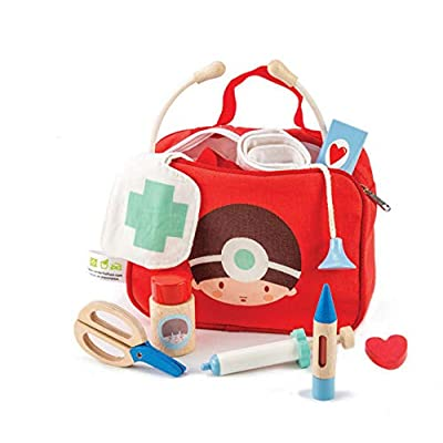 12 Pc Medical Bag Set - Doctor and Nurse Pretend Play Toy Medical Kit - Made with Premium Quality Materials - Promotes Imaginary and Creative Roleplay, Helps to Create Health Awareness - Ages 3+: Toys & Games