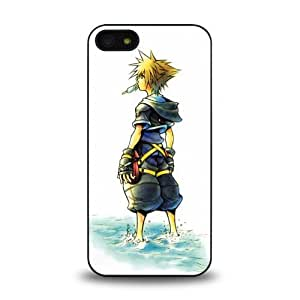 iPhone 5 5S case protective skin cover with game Kingdom Hearts design #4