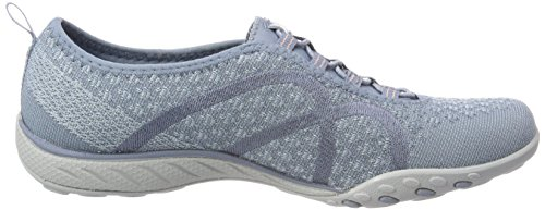 Mujer Breathe Fortune Knit Easy para Blue Azul Zapatillas Skechers Pwa1Aqq
