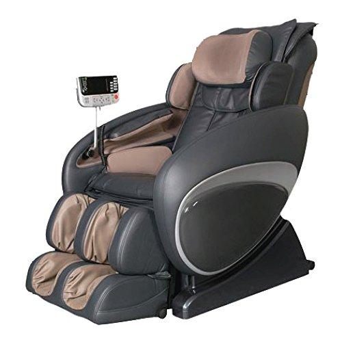 OSAKI OS-4000 Zero Gravity Massage Chair, Charcoal