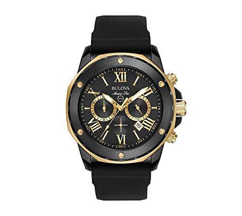Bulova Men's 44mm Marine Star Chronograph Watch